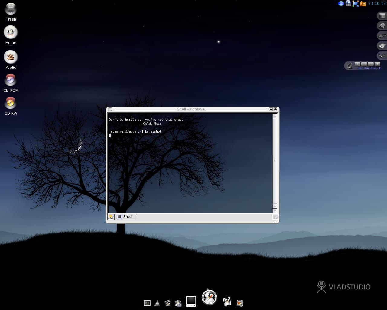 DUNIA LINUX *SEMUA JENIS LINUX OS ADA DISINI* Desktop